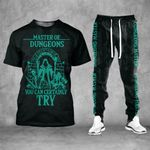 Master Of Dungeons Tshirt and Sweatpants Set