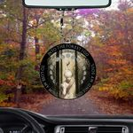 Witch Forest Flat Car Ornament (buy more for discount)