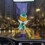 Witch Blonde Hair Car Ornament (buy more for discount)