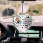 I Have You In My Heart Cardinal Heart Ornament