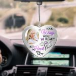 Your Wings Were Ready Butterfly Heart Ornament