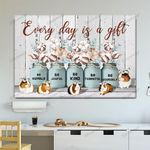 Guinea Pig Every Day Is A Gift Canvas & Poster