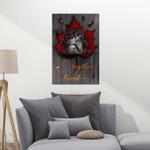 Skull Together We Built Canvas & Poster