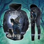 Be A Witch Black Cat Moon Legging and Hoodie Set