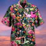 Holiday Flamingo Funny Tropical Hawaii Shirt - TG0721