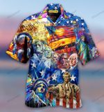 Country Blue Hawaii Shirt - TG0721