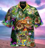 Hippie Van Mushrooms Hawaii Shirt - TG0721
