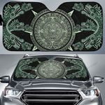 Aztec Dark Green Car Sunshade - TG0721DT