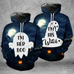 I'm Her Boo I'm His Witch Matching Hoodies - TG0721OS