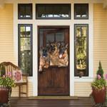 German Shepherd Looking Door Cover - TG0821DT