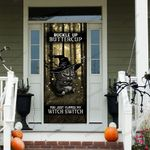 Cat Witch Switch Door Cover - TG0821TA