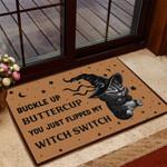 Witch Cat Halloween Doormat - TG0821QA