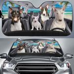 Bull Terrier Family Car Sunshade - TG0821HN