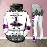 Magical Grandma Witch Legging and Hoodie Set - TG0821OS