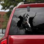 Pitbull Cracked Car Decal Sticker - NH0821