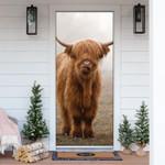 Highland Cow Mist Door Cover - TG0821QA