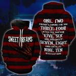 Halloween Red Sweet Dreams Hoodie - TG0921DT