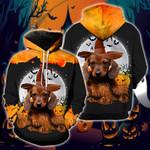 Dachshund Halloween Lover Hoodie - NH0921TD