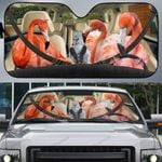 Flamingo Family Car Sunshade - LT0821OS