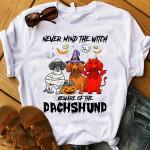 Beware of the Dachshund Halloween TShirt and Hoodie - NH0921HN