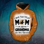 Mom And Grandma Witch Orange TShirt and Hoodie - TG0921HN