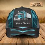 Teal Truck Personalized Classic Cap - TG0921HN