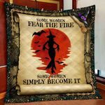 Witch Some Women Become The Fire Quilt - NH0921TA