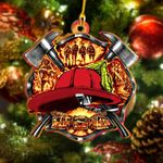 Firefighter Flat Ornament - TG0921DT