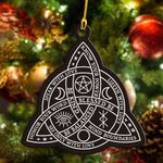 Witch Celtic Knot Flat Ornament - TG0921TA