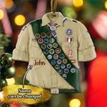 Scout Shirt Custom Flat Ornament - TG0921QA