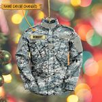 US Air Force Uniform Custom Flat Ornament - NH0921DT