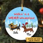 Walkin' In A Wiener Wonderland Ornament - TG0921TA