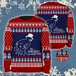 Snowman How Snowflakes Are Really Made Funny Christmas Wool Sweater - TG0921TA