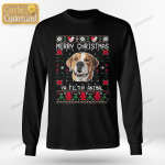 Dog/Cat Face Christmas Custom T-shirt & Sweatshirt