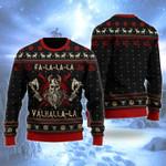 Viking Fa La La Christmas Wool Sweater - TG0921HN