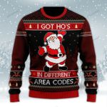 I Got Ho's In Different Area Codes Wool Sweater - TG0921HN