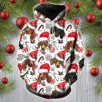 Dachshunds Christmas Hoodie & Wool Sweater - TG1021DT