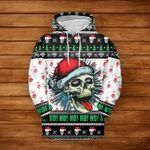 Skull Naughty Christmas TShirt and Hoodie - NH0921QA