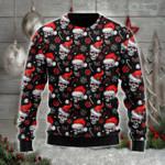 Skull Santa wool sweater & hoodie - PD1021DT