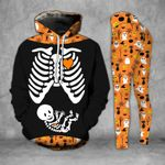Halloween Pregnancy Announcement Legging and Hoodie Set - TG0721OS