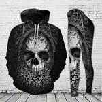 Mystical Skull Hoodie and Legging Set