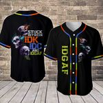 Trio Skulls IDK Baseball Jersey