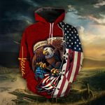 These Colors Don't Run Red Hoodie - TG1021QA