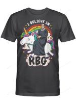 I Believe In RBG Unicorn Feminist T-Shirt T-Shirt