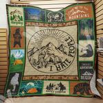 Bear Camping Quilt Blanket DHC06021469TD