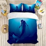 3d Blue Sea Mermaid CLH101001B Bedding Sets