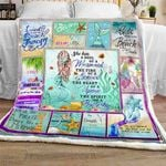 A Soul Of A Mermaid CL180902MDF Sherpa Fleece Blanket
