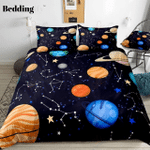 Planets Stars GS-CL-NT0401 Bedding Set