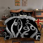 Black And White Octopus Tentacle GS-CL-LD1610 Bedding Set