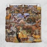 Camo Hunting Animals Art GS-CL-DT0104 Bedding Set